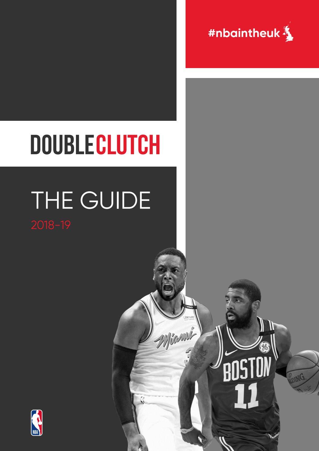 1b25a019fe1a 2018-19 NBA Season Guide - Double Clutch UK by Double Clutch UK - issuu