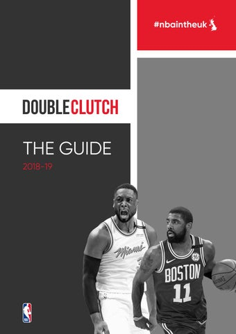 19d50cd6d52 2018-19 NBA Season Guide - Double Clutch UK by Double Clutch UK - issuu
