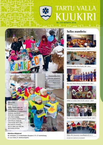 fab23578df9 Tartu Valla Kuukiri (215) Märts 2016 by Tartu Valla Kuukiri - issuu