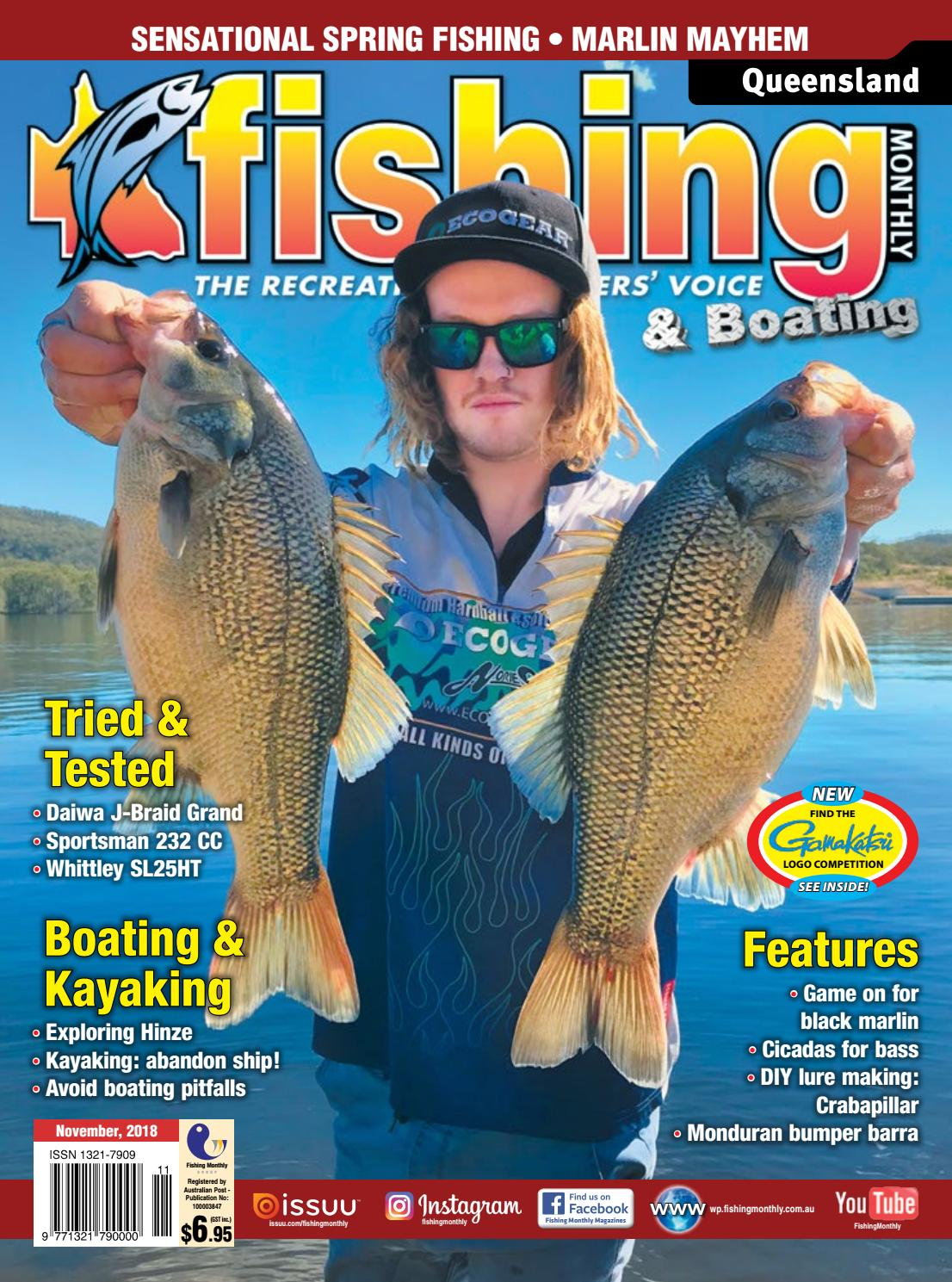 b17c6c56b33 Queensland Fishing Monthly November 2018 by Fishing Monthly - issuu