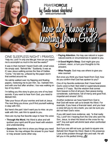 Page 41 of How Do I Know I'm Hearing From God?