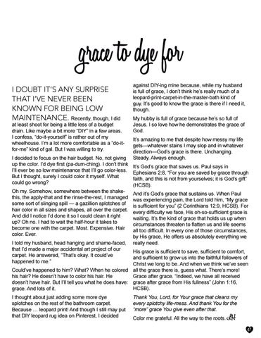 Page 47 of Grace to Dye For