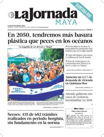 La Jornada Maya · lunes 22 de octubre de 2018 by La Jornada Maya - issuu 97de7a39e40