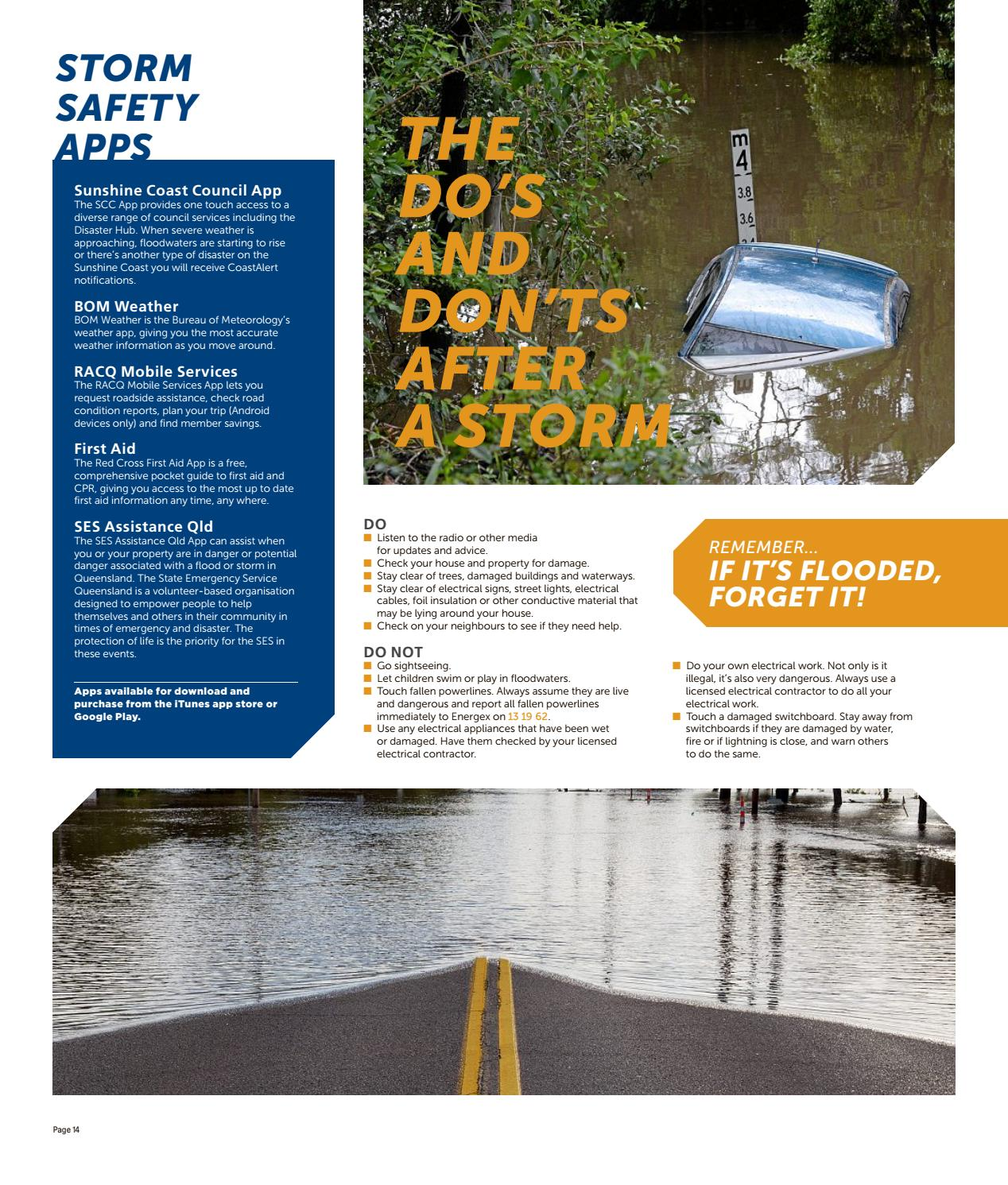 Storm and Bush Fire Safety Guide by NRM Custom Publishing - issuu