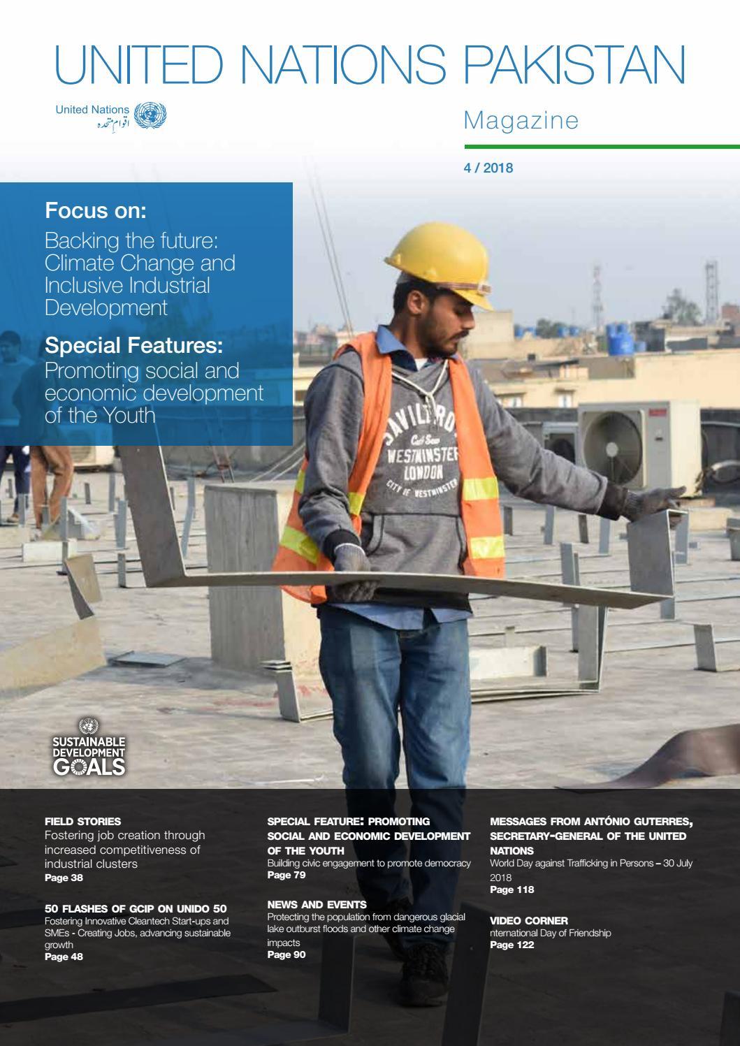 UN Magazine : Issue 4/2018 by UN Information Centre Pakistan