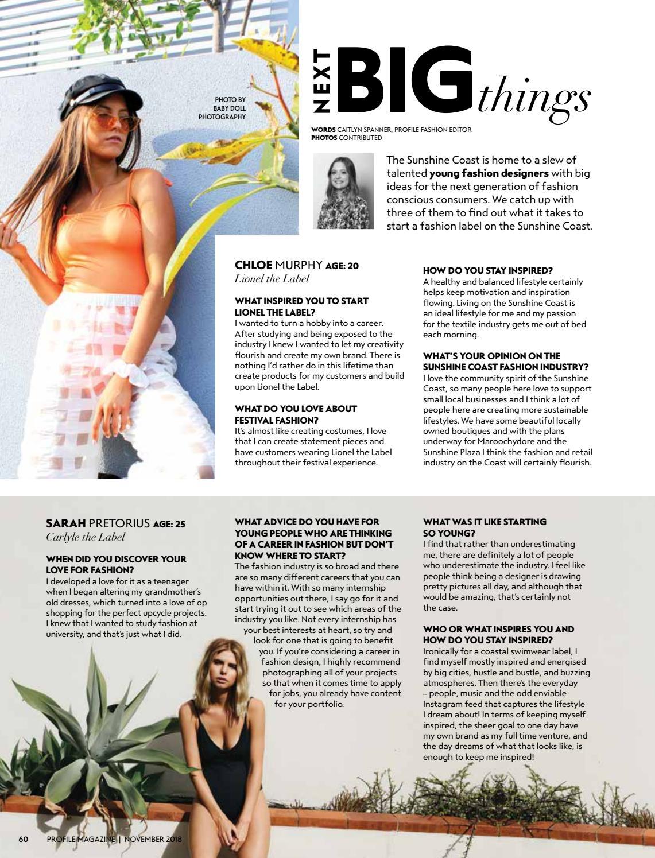 cd85dc03a1 Profile Magazine November 2018 by Profile Magazine - issuu
