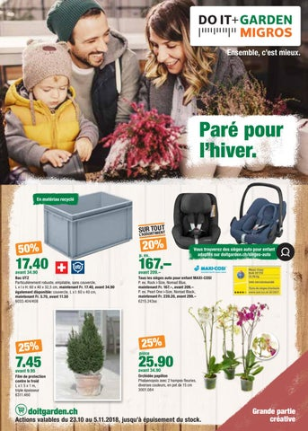 9d9e6faeead215 Aktionsflyer Do it + Garden KW43 FR by Migros - issuu