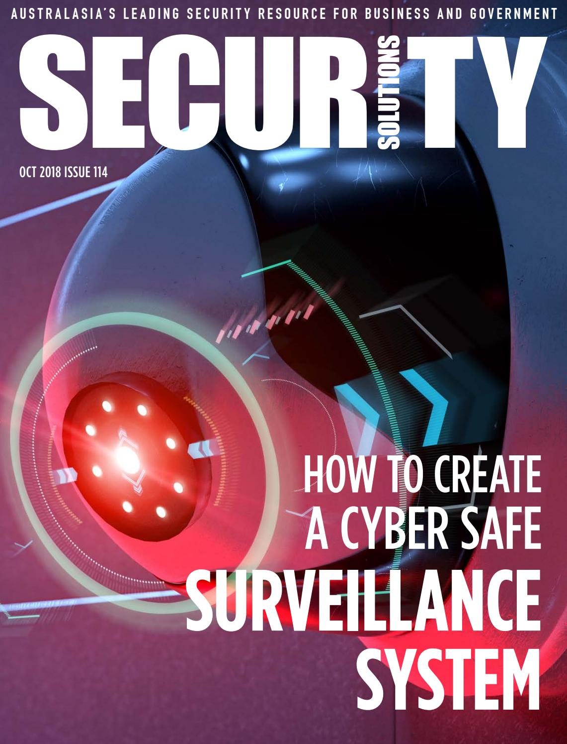 Security Solutions Issue  114 by Security Solutions - issuu 5f8b336e6cb2d