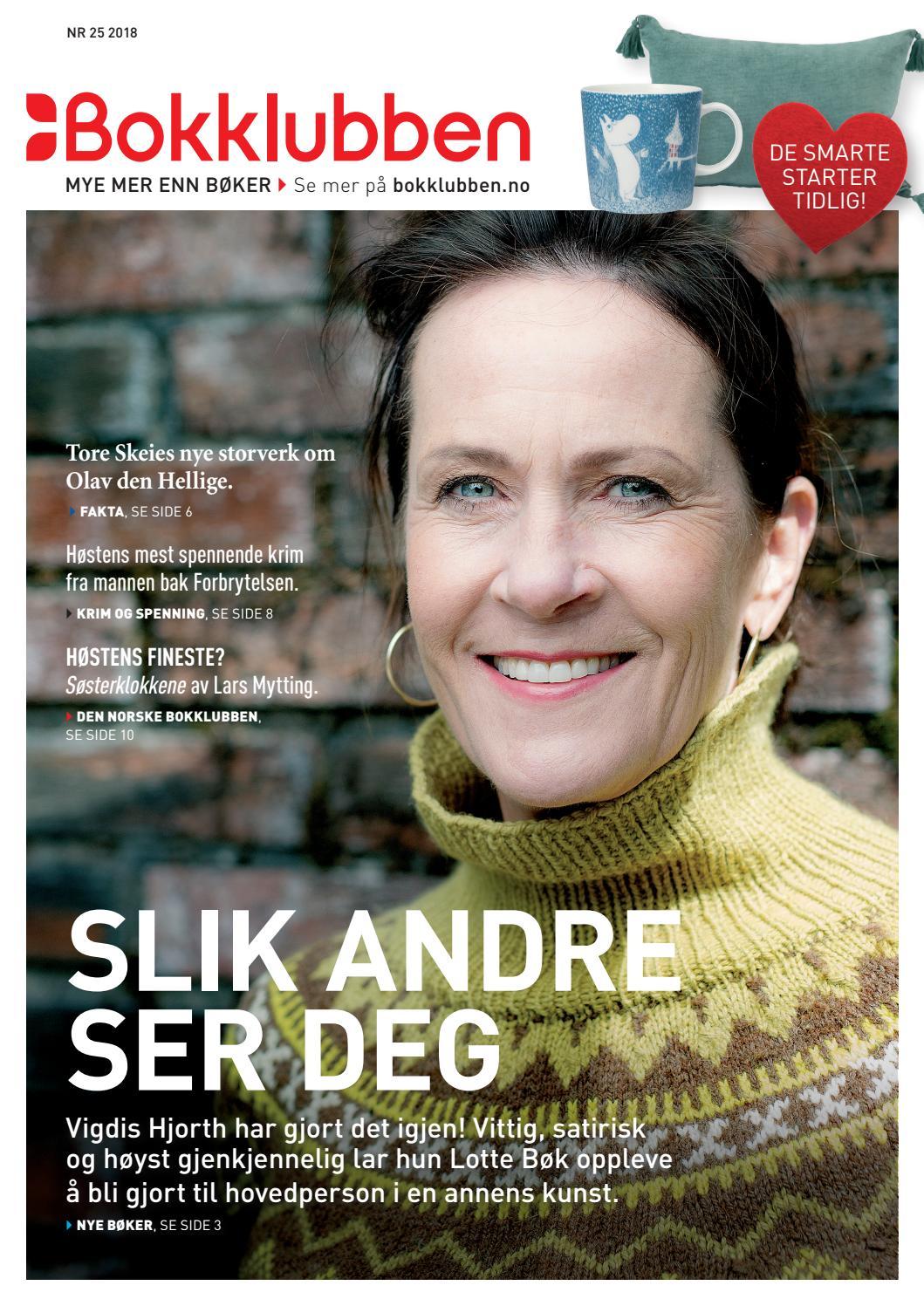 acc9dd1a1 Bokklubben - Medlemsblad nr 25, 2018 by De norske Bokklubbene - issuu