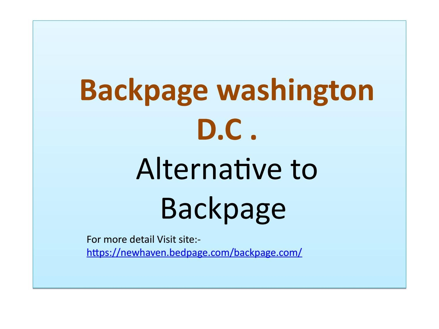 Dcbackpage