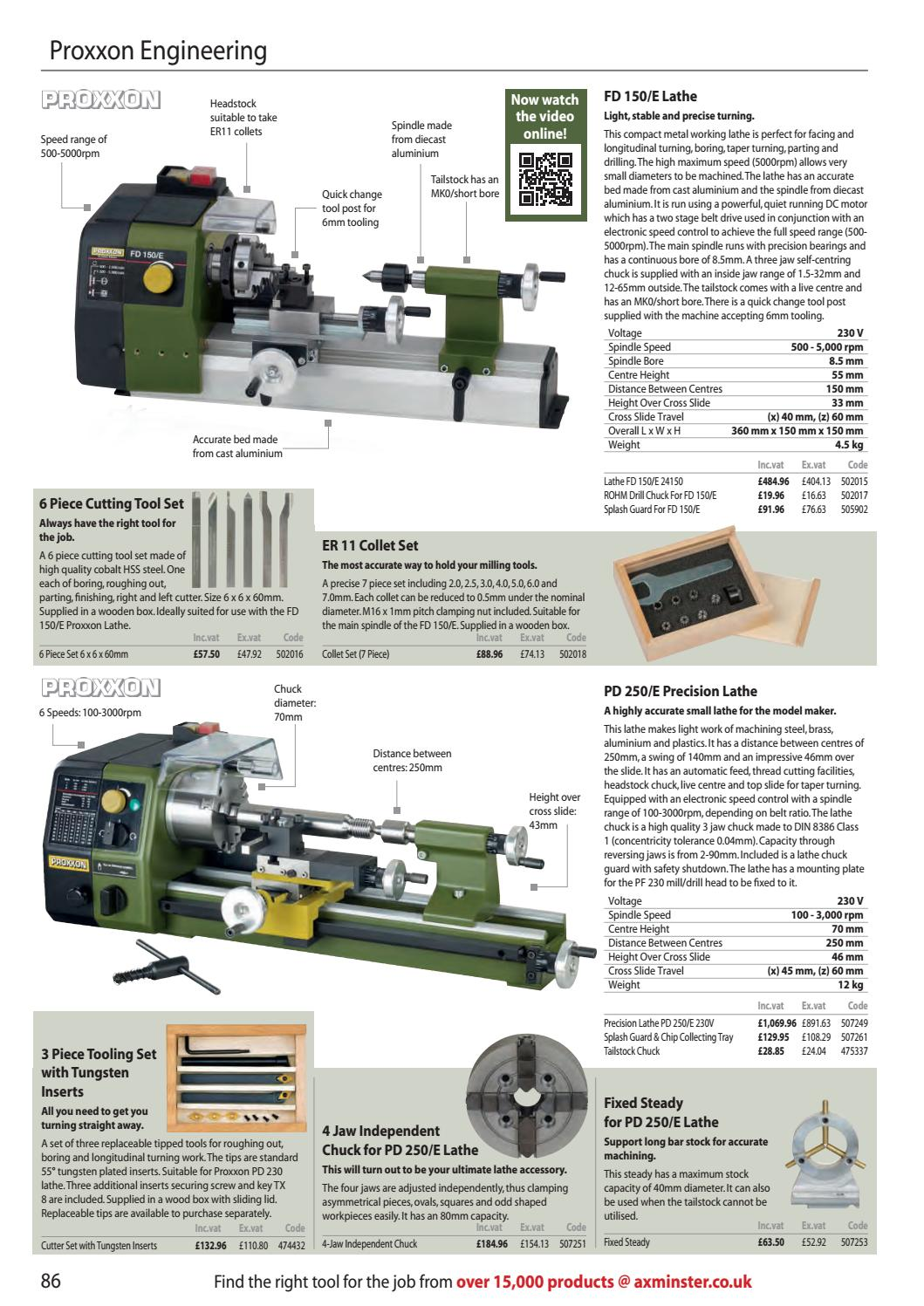Axminster Tools & Machinery Catalogue 2018/19 by Axminster