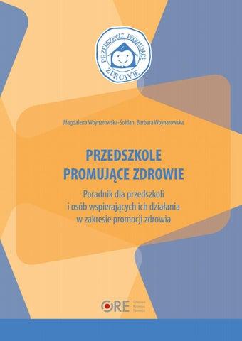 Przedszkole Promujące Zdrowie By Ośrodek Rozwoju Edukacji