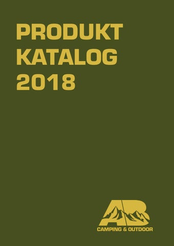 35d2e12ff05 AB Camping & Outdoor Produkt Katalog 2018 by abcamping - issuu