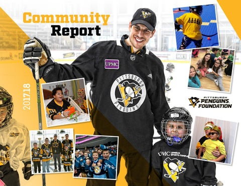 7bddba74010 Pittsburgh Penguins Foundation 2017.18 Community Report by ...