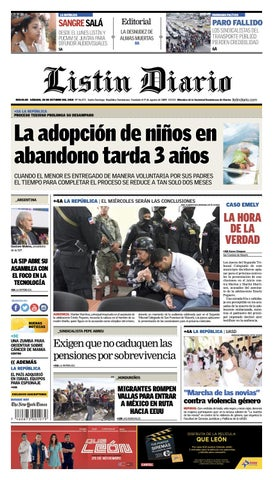 cbecb4f4d6 LD 20-11-2018 by Listín Diario - issuu