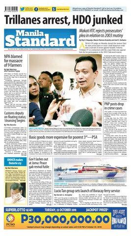 27b1da642987 Manila Standard - 2018 October 23 - Tuesday by Manila Standard - issuu
