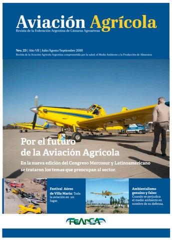 Revista Aviación Agrícola Nº 23 - FEARCA