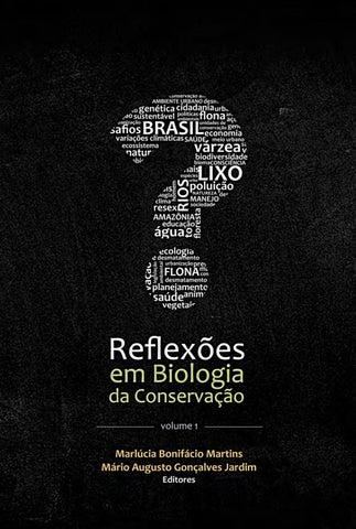 6331fde620ca4 Reflexões em Biologia da Conservação - Volume 1 by Museu Paraense ...