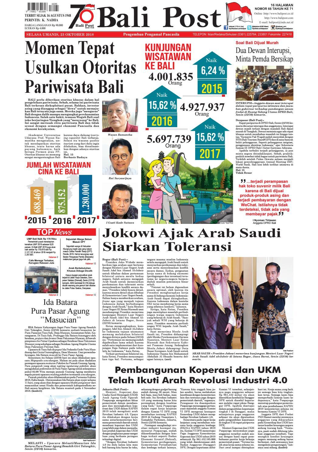 Edisi Selasa 23 Oktober 2018  c49224e415