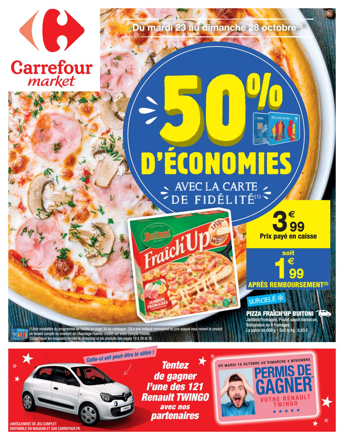 Catalogue Carrefour Market Du 23 Au 28 Octobre 2018 By