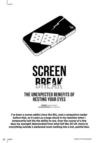 Page 18 of Screen Break: The Unexpected Benefits of Resting Your Eyes