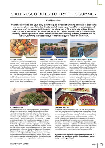 Page 73 of 5 Alfresco Bites to Try This Summer