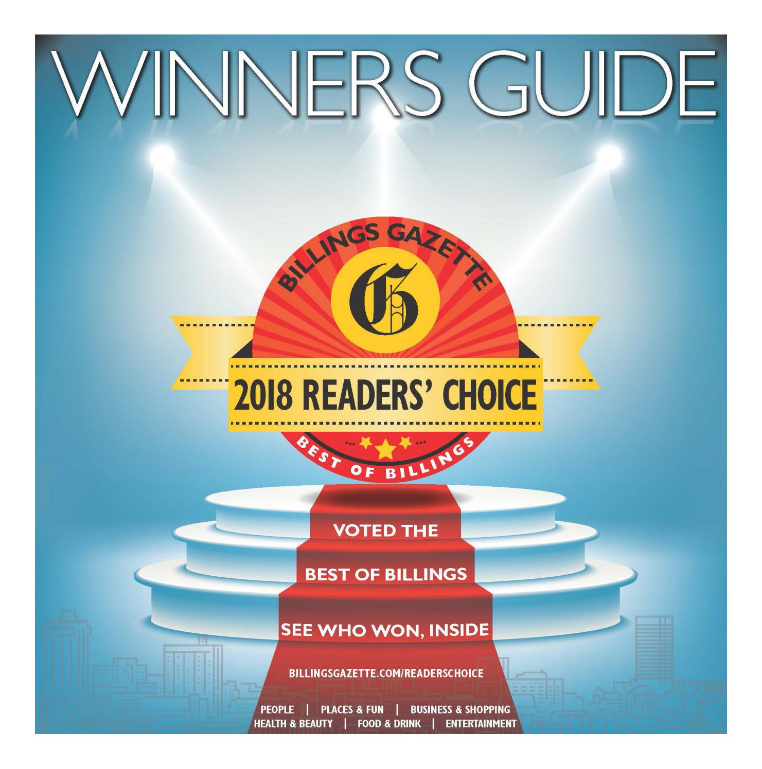 e200b4a611 Readers  Choice Winners Guide 2018 by Billings Gazette - issuu