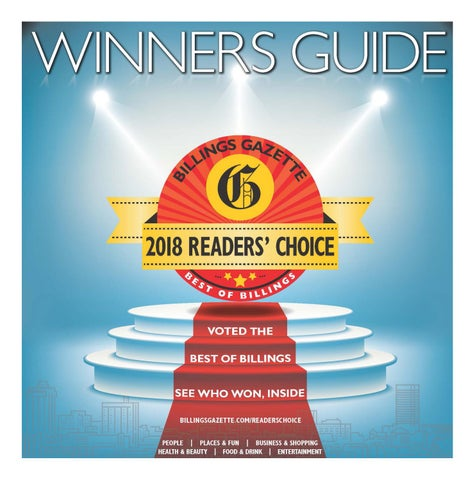76afa89a05ff Readers  Choice Winners Guide 2018 by Billings Gazette - issuu