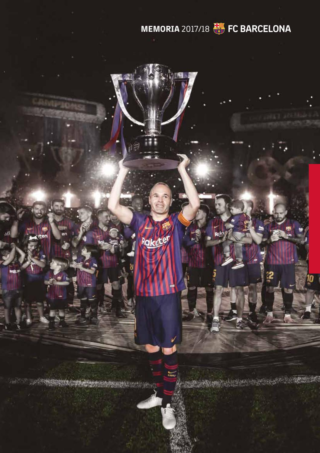 Felicitaciones De Navidad Del Fc Barcelona.Memoria Fc Barcelona Temporada 2017 18 By Fc Barcelona Issuu