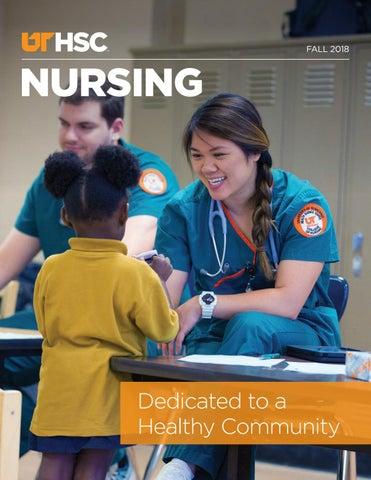 UTHSC College of Nursing Magazine - Fall 2018 by University
