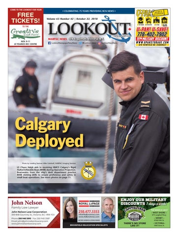 Lookout Newspaper, Issue 42 - October 22, 2018 by Lookout