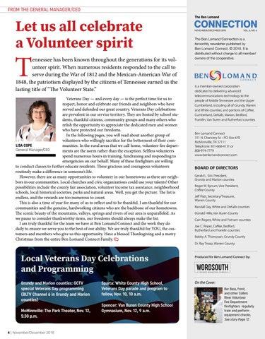 Page 4 of Let Us All Celebrate A Volunteer Spirit