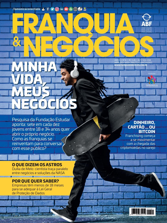 Revista Franquia   Negócios   81 + Relatório de Gestão 2017   2018 by  Editora Lamonica Conectada - issuu 132d766fac