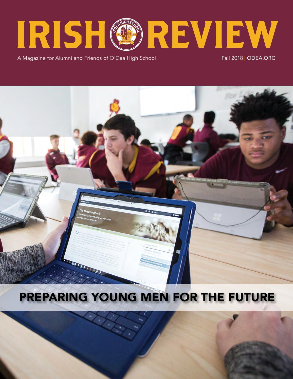 Irish Review - Fall 2018 by O'Dea High School - issuu