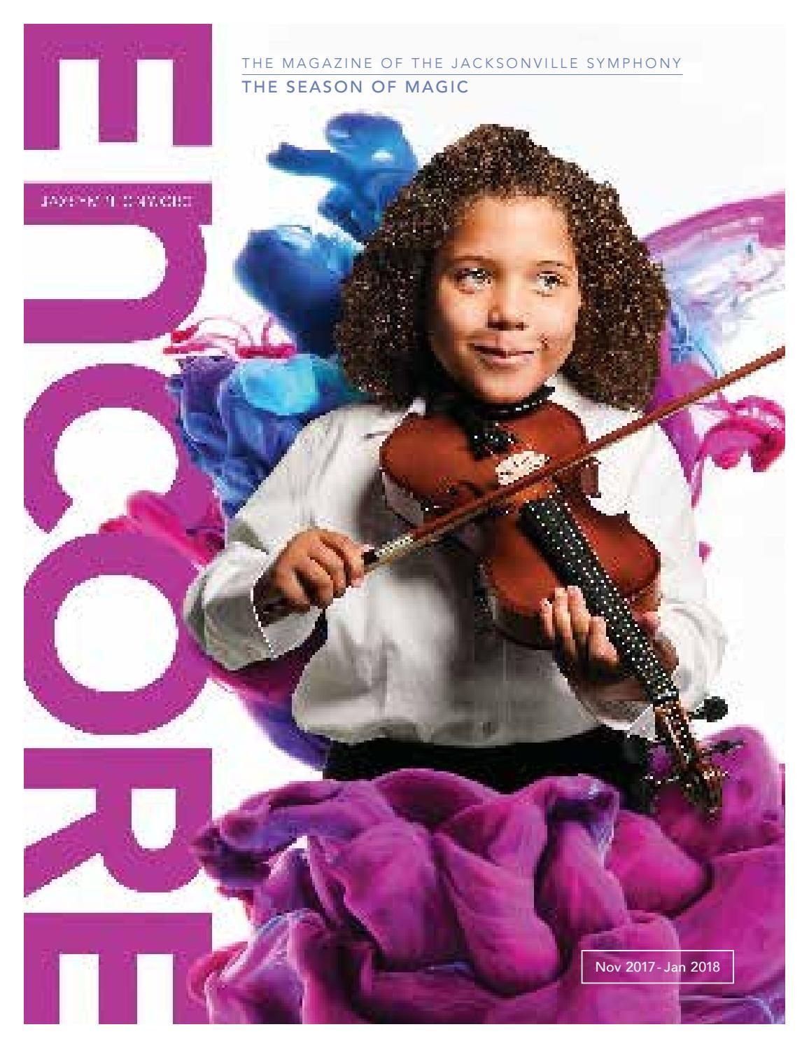 Encore 2: 2017-2018 by Jacksonville Symphony - issuu