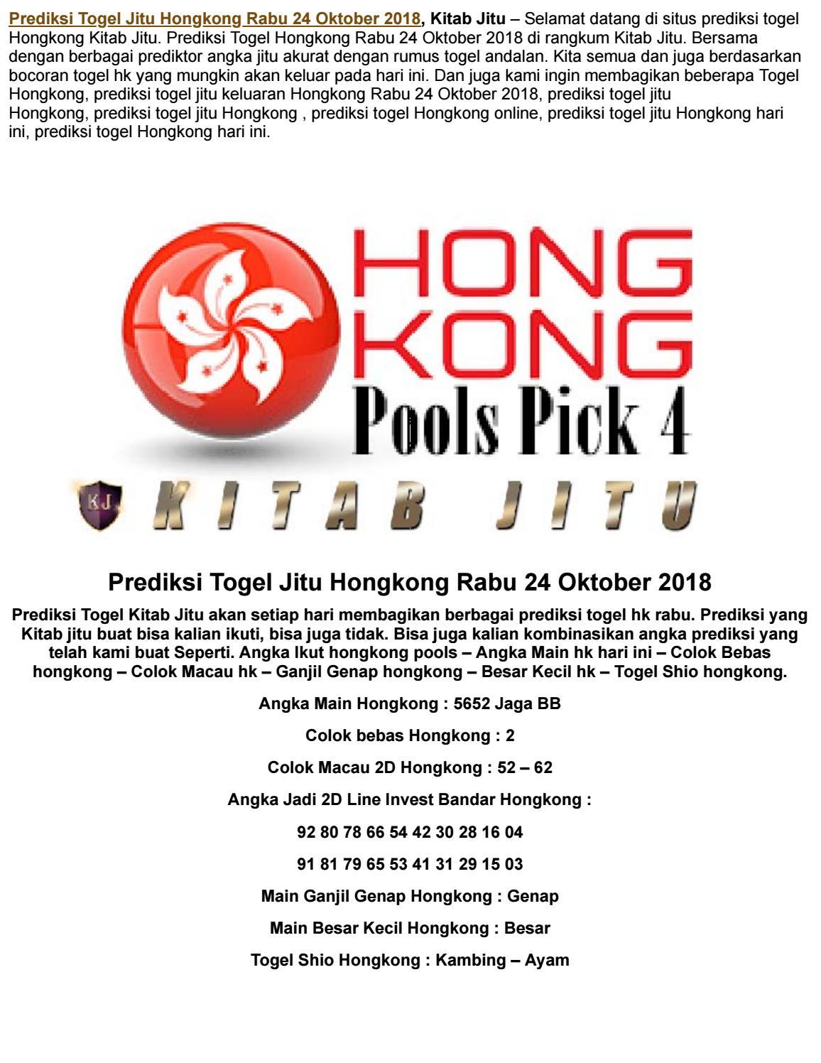 2d hongkong pools malam ini t