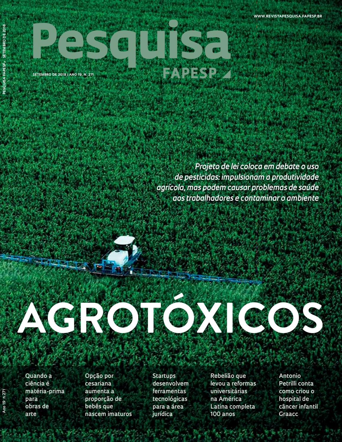 934bd1cf3 Agrotóxicos by Pesquisa Fapesp - issuu