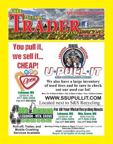 Weekly Trader October 25, 2018 by Weekly Trader - issuu