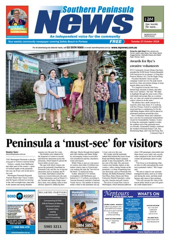 30760c12337 23 October 2018 by Mornington Peninsula News Group - issuu