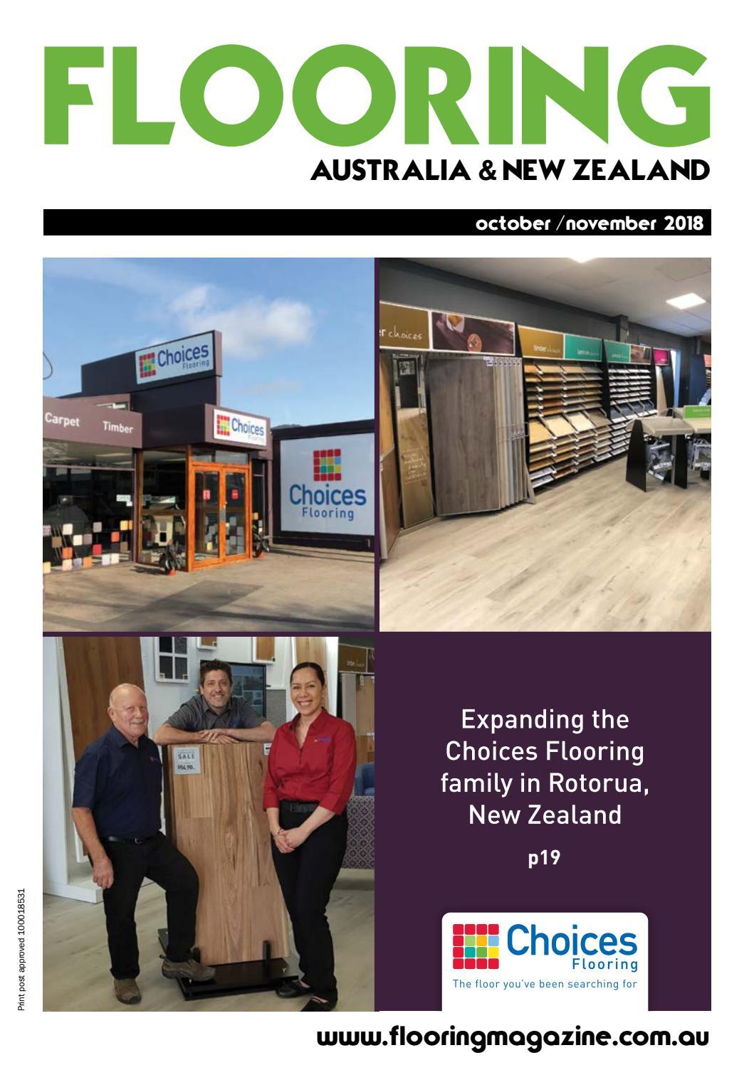 Flooring magazine october november 2018 by elite publishing co pty ltd issuu