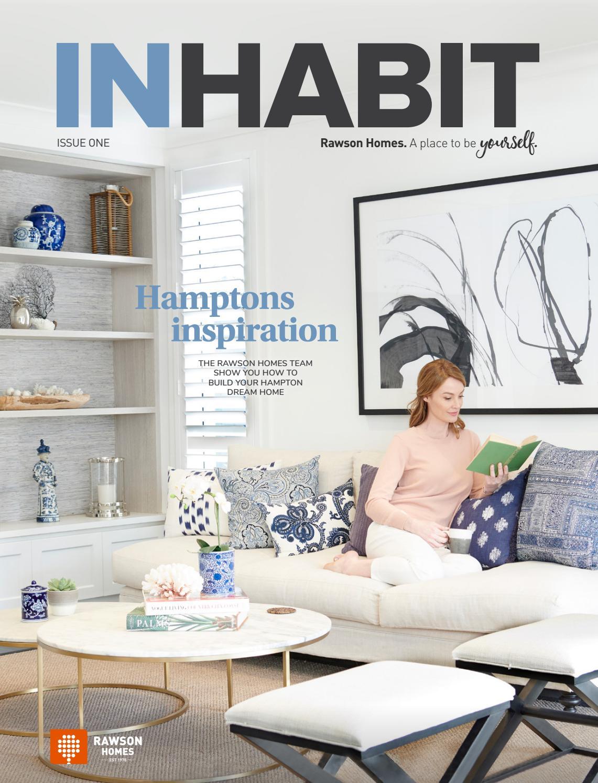 Rawson homes inhabit magazine issue 01 hamptons by rawson group issuu
