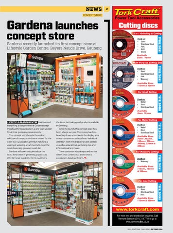 Page 47 of Gardena launches concept store