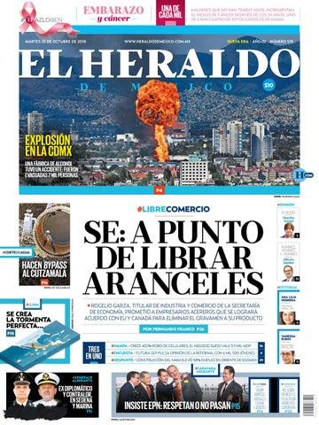 23 de octubre de 2018 by El Heraldo de México - issuu e497d0f8ce8