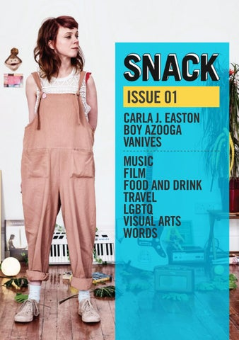 4caa8cdf1608 Snack - Issue 01 by Snack Mag - issuu