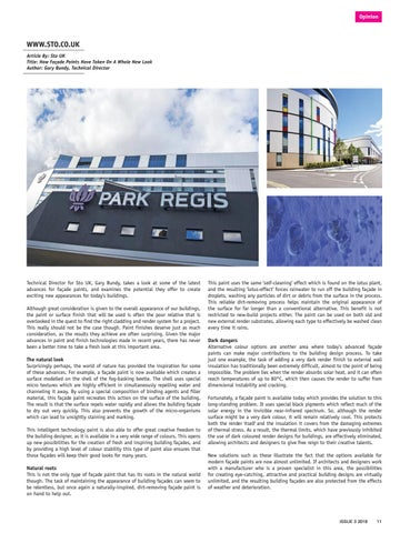 Page 11 of How Façade Paints have taken on a whole new look