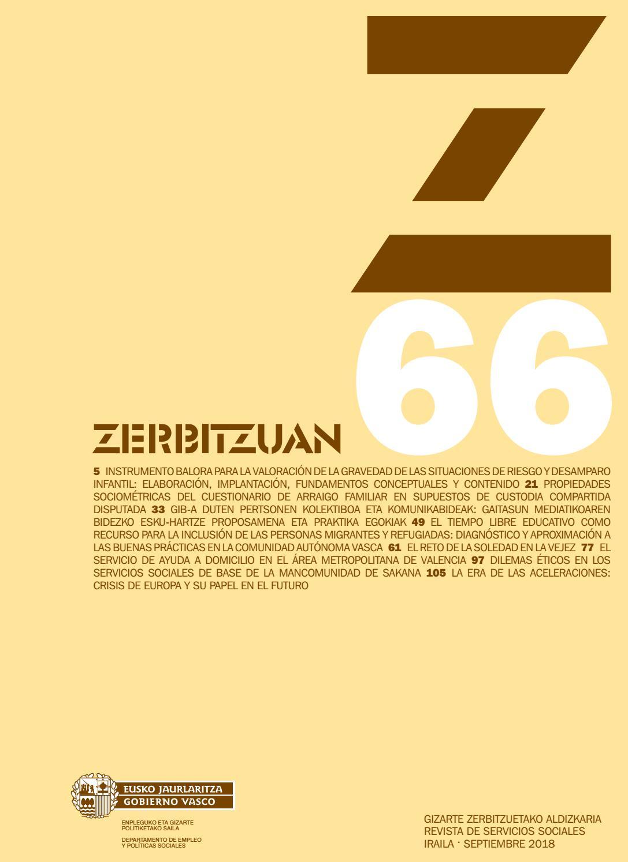 Zerbitzuan 66 By Siis Centro De Documentacion Y Estudios Issuu
