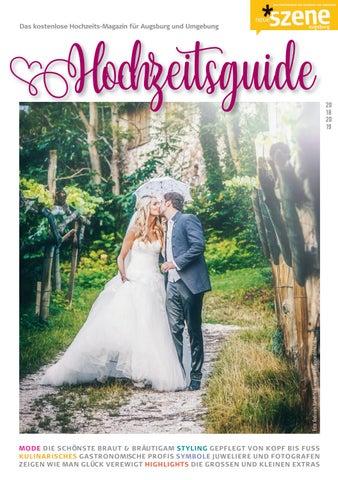 Hochzeits Guide Augsburg 2018 By Neue Szene Augsburg Issuu