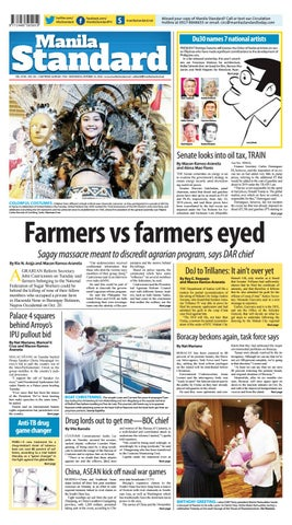 fc258aa6ae514 Manila Standard - 2018 October 24 - Wednesday by Manila Standard - issuu