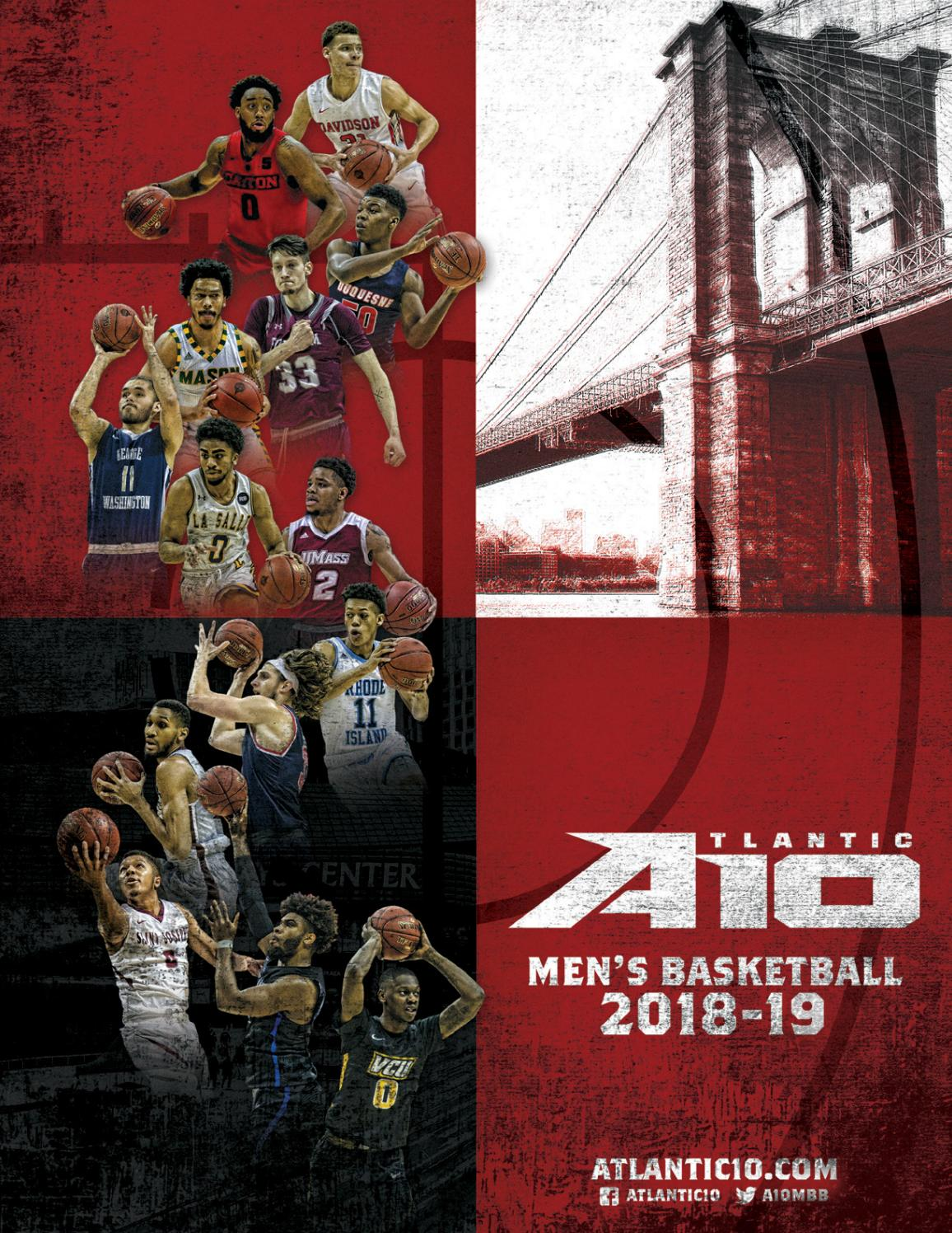 752d64a84 2018-19 Men s Basketball Media Guide by Atlantic 10 Conference - issuu