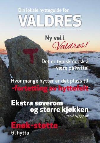 708796cb Din lokale hytteguide for Valdres 2018 by Norsk Hyttelag - issuu